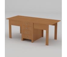 Стол-книжка Компанит 3 800х532х750 мм бук
