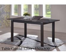 Обеденный стол ONDER MEBLI Garold венге