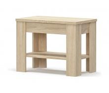Стол Мебель-Сервис Гресс 70 660х495х380 мм дуб самоа