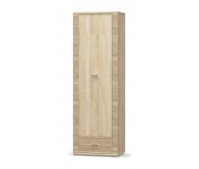 Пенал Мебель-Сервіс Гресс 1Д1Ш 628х1920х393 мм дуб самоа
