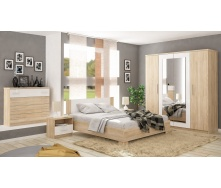 Спальня Мебель-Сервис Маркос 4Д дуб самоа