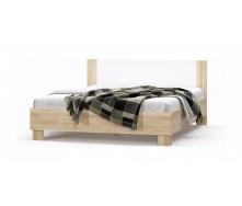 Кровать двуспальная Мебель-Сервис Маркос 1800 2036х1864х852 мм дуб самоа