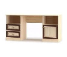 Стол письменный Мебель-Сервис Дисней 1Д2Ш 1536х595х755 мм дуб светлый