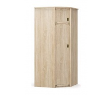 Шкаф угловой Мебель-Сервис Валенсия 930х930х2086 мм самоа