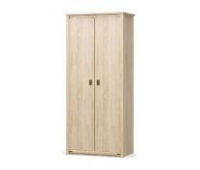 Шкаф Мебель-Сервис Валенсия 2Д 2086х910х520 мм самоа