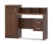 Письменный стол Мебель-Сервис Пинокио МДФ 1210х980х580 мм орех