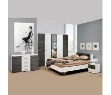 Спальня Мир мебели Круиз 5Д дакар/белая