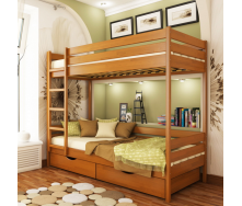 Кровать двухъярусная Эстелла Дуэт 105 80x190 см щит