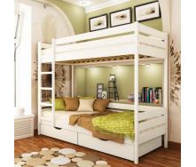 Кровать двухъярусная Эстелла Дуэт 107 80x190 см массив