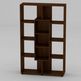 Книжный шкаф Компанит КШ-4 1796x1100x350 мм орех экко