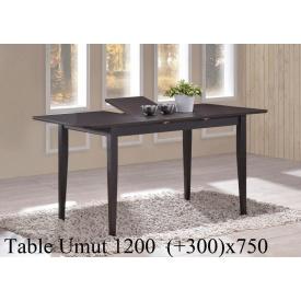 Обеденный стол ONDER MEBLI Umut 120 венге