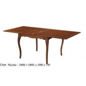 Обідній стіл ONDER MEBLI Nicolas каштан