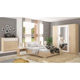 Спальня Меблі-Сервіс Маркос 4Д дуб самоа