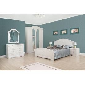 Спальня Світ меблів Луїза біле золото