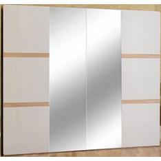 Шафа для одягу БМФ Магнолія Ш-1682 2120х1100х570 мм білий перламутр / акація