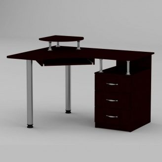 Компьютерный стол Компанит СУ-2 1200х1000х736 мм венге