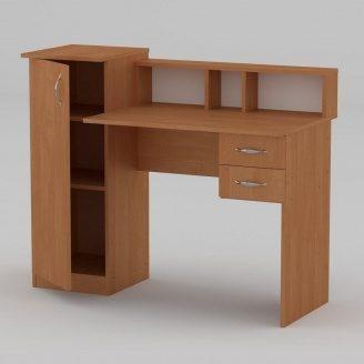 Письмовий стіл Компанит Пі-Пі-1 1175х550х736 мм вільха