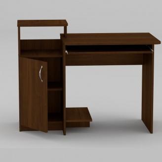 Компьютерный стол Компанит СКМ-2 1102х600х750 мм орех