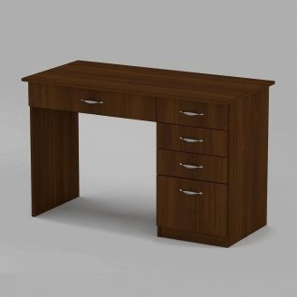 Письмовий стіл Компанит Студент 1155х550х736 мм горіх
