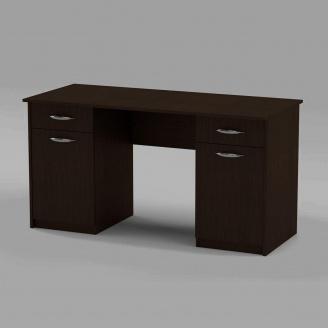 Письмовий стіл Компанит Вчитель-2 1400х600х736 мм венге