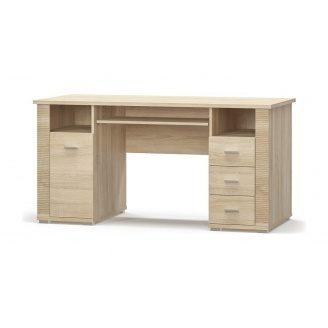 Стіл Мебель-Сервіс Гресс 1Д3Ш 1500х760х675 мм дуб самоа