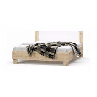 Ліжко двоспальне Меблі-Сервіс Маркос 1800 2036х1864х852 мм дуб самоа
