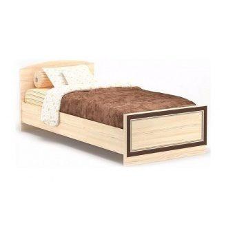 Кровать Мебель-Сервис Дисней Ламель 90 976х2064х755 мм дуб светлый