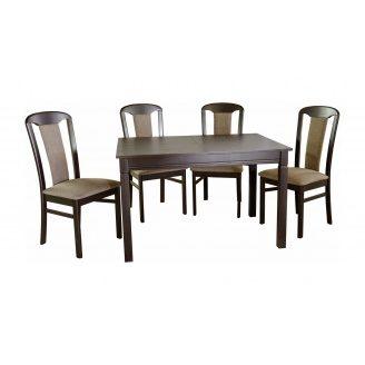 Стол кухонный Мебель-Сервис Карпаты раскладной 740х800х1200/1600 мм венге