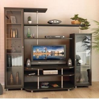 Гостинная Мебель-Сервис Рио-1 1706х1900х550 мм венге темный