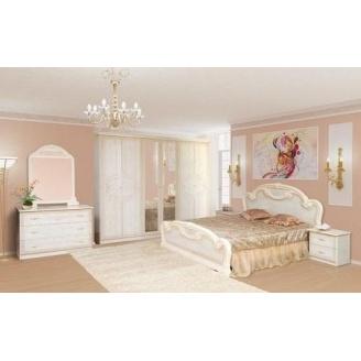 Спальня Мир мебели Опера 6Д роза лак