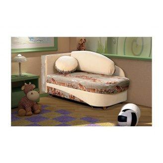 Диван детский Мебель Прогресс Шерхан 1560x835x750 мм бежевый