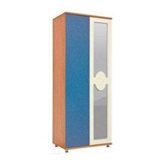 Шкаф БМФ Геометрия Ш-1442 1910х800х530 мм для одежды синий