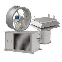 Вентиляторы для систем приточной противодымной вентиляции