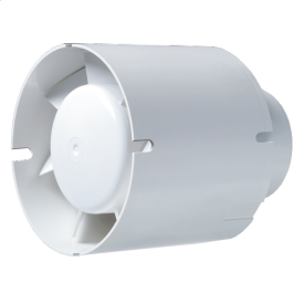 Вентилятор Blauberg Tubo 100 осьовий канальний 102 м3/год 98 мм білий