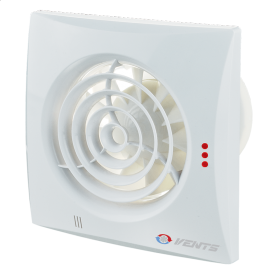 Вентилятор ВЕНТС Квайт 100 Дуо енергозберігаючий осьовий 90 м3/год 158х158 мм білий
