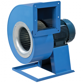 Вентилятор ВЕНТС ВЦУН 240х114-2,2-4 ПР 2930 промисловий відцентровий 2930 м3/год 414х568х461 мм синій