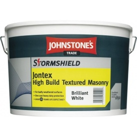 Фасадная краска Johnstones Stormshield Jontex High Build Textured Masonry 10 л