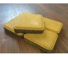Тротуарная плитка ЭКО Старый Город 120х120х40 мм желтый