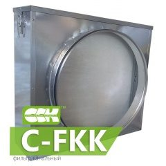 C-FKK фильтр канальный для круглых каналов