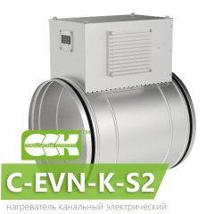 C-EVN-K-S2 воздухонагреватель электрический канальный с электронным управлением