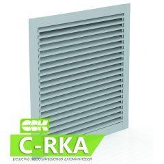 C-RKA решетка канальная нерегулируемая алюминиевая прямоугольная