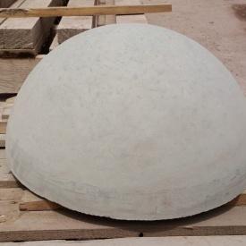 Полусфера бетонная МикаБет 25х50 см серый