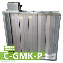 C-GMK-P клапан воздушный канальный прямоугольный