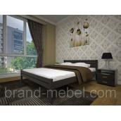 Деревянная кровать ТИС Классика бук 140х200