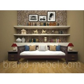 Деревянная кровать-диван Рондо 3 сосна 80х190