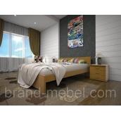 Деревянная кровать ТИС Изабелла 3 сосна 90х200