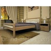 Деревянная кровать ТИС Модерн 1 бук 140х200