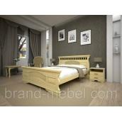 Деревянная кровать ТИС Атлант 23 сосна 140х200