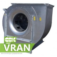 VRAN вентиляторы радиальные с загнутыми назад лопатками