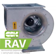 RAV вентиляторы радиальные компактные с загнутыми назад лопатками